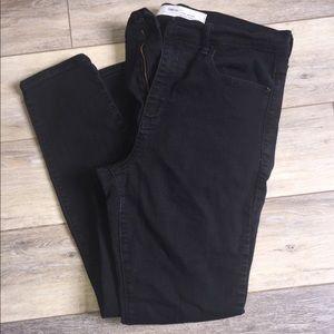 GAP Pants - Black GAP true skinny, super high rise leggings!